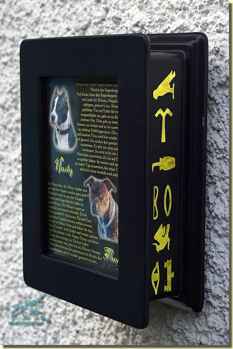 Bilderrahmen und Fotorahmen Tierurnen aus Keramik aus der ...